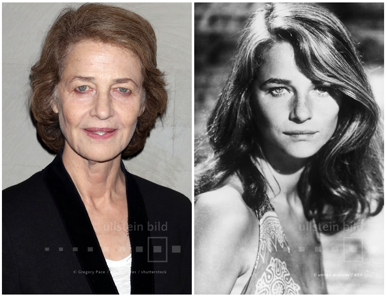 Charlotte Rampling 2015 & 1974