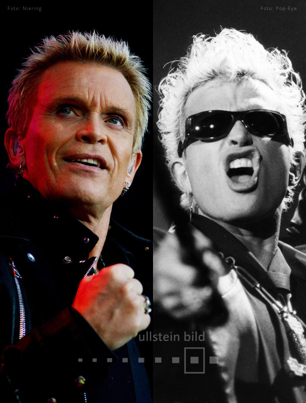 Billy Idol 2015 & 1993
