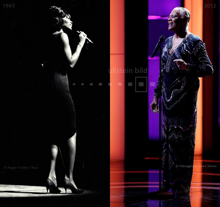 Dionne Warwick 1963 & 2012