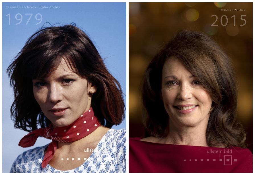 Iris Berben 1979 & 2015