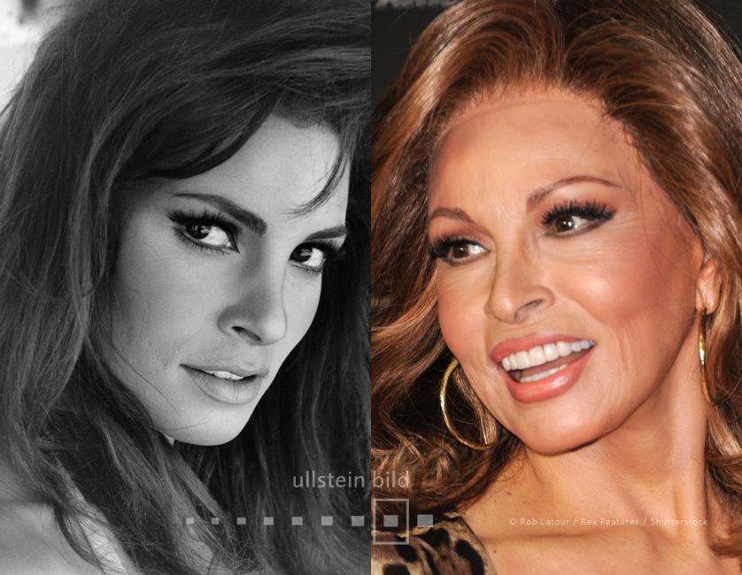 Raquel Welch 1967 & 2013