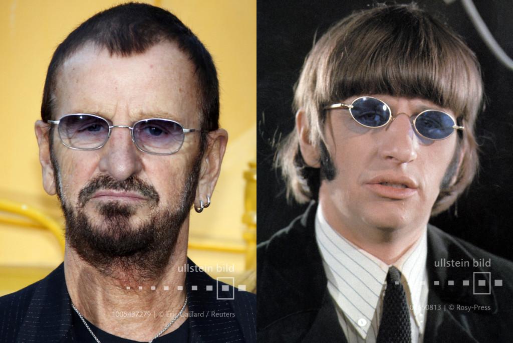 Ringo Starr 2013 & 1965