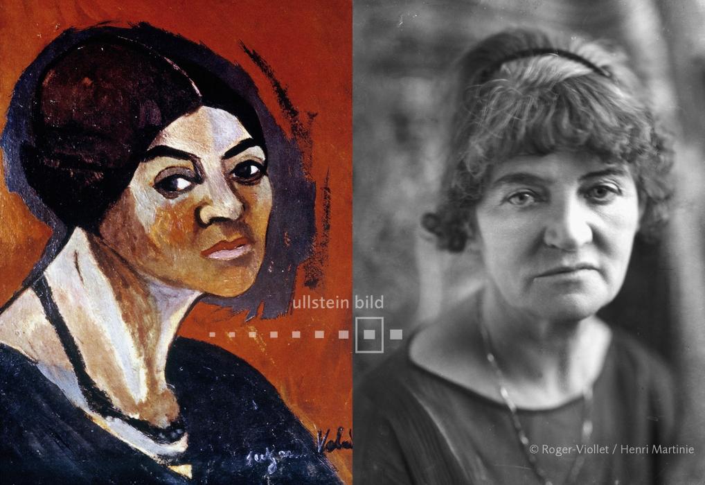 Suzanne Valadon c1895 & c1930
