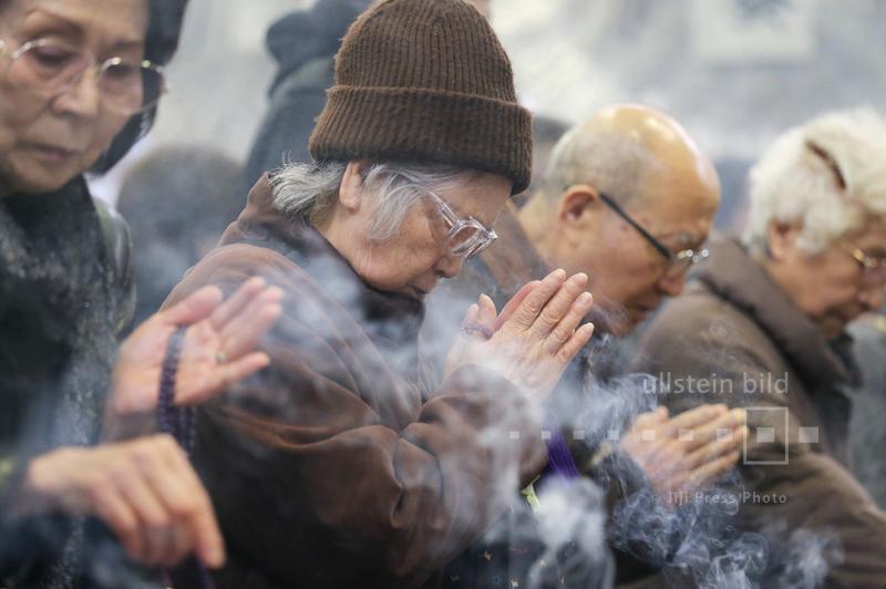 Gedenkgottesdienst zum 70. Jahrestag der Luftangriffe auf Tokio, 10. März 2015