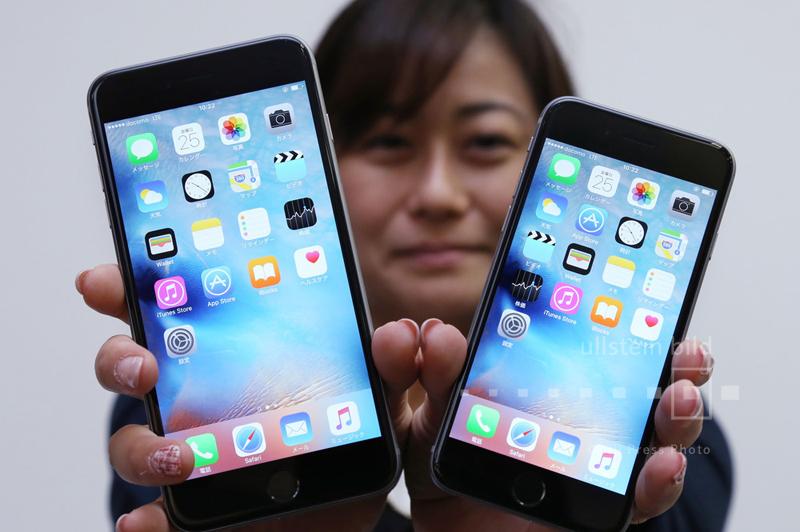 Apple präsentiert das neue iPhone 6s und 6s Plus in Tokio, 25. September 2015