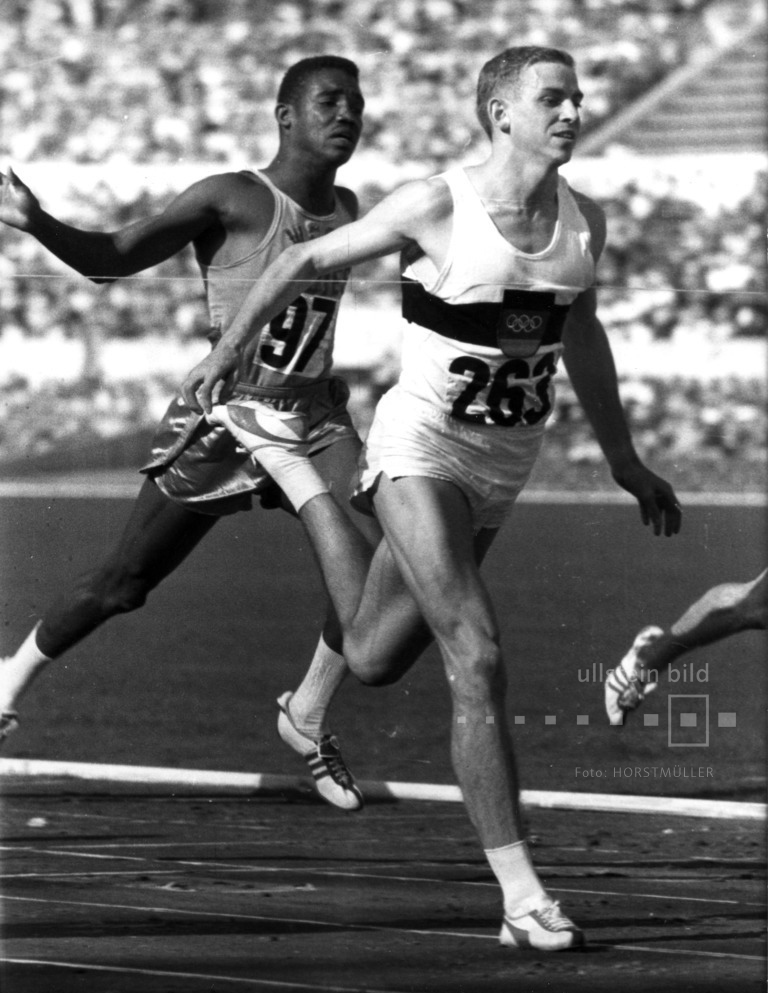 Armin Hary wird Sprint-Olympiasieger über 100m 1960 in Rom