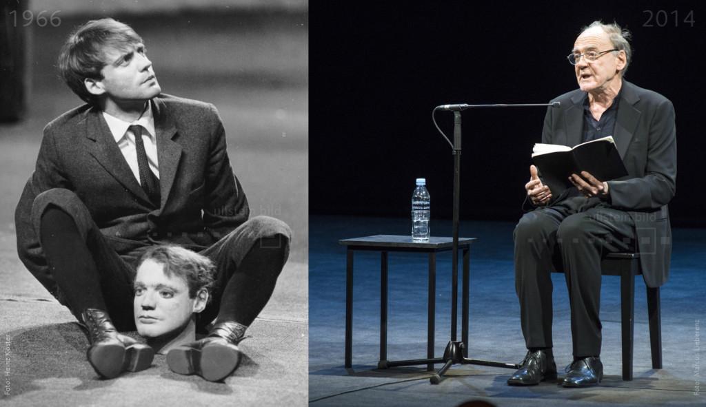Bruno Ganz 1969 & 2014