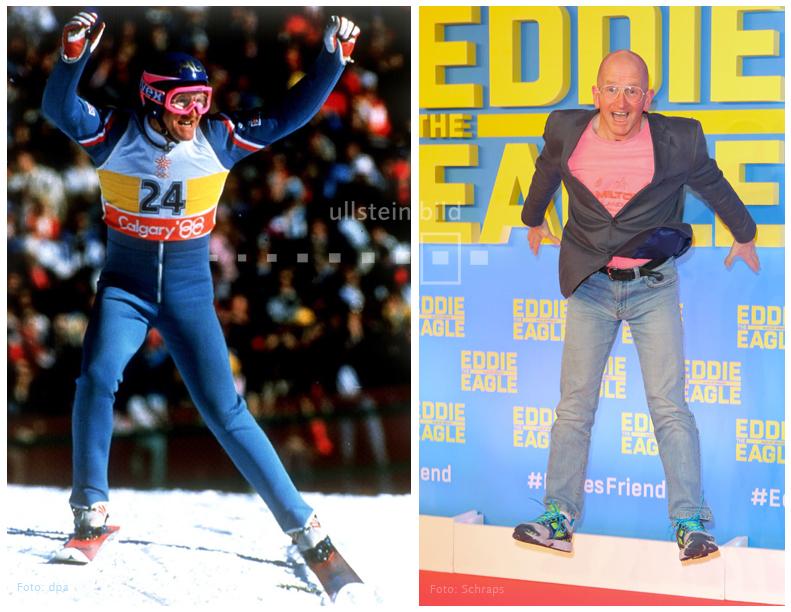 Michael Edwards 1988 & 2016