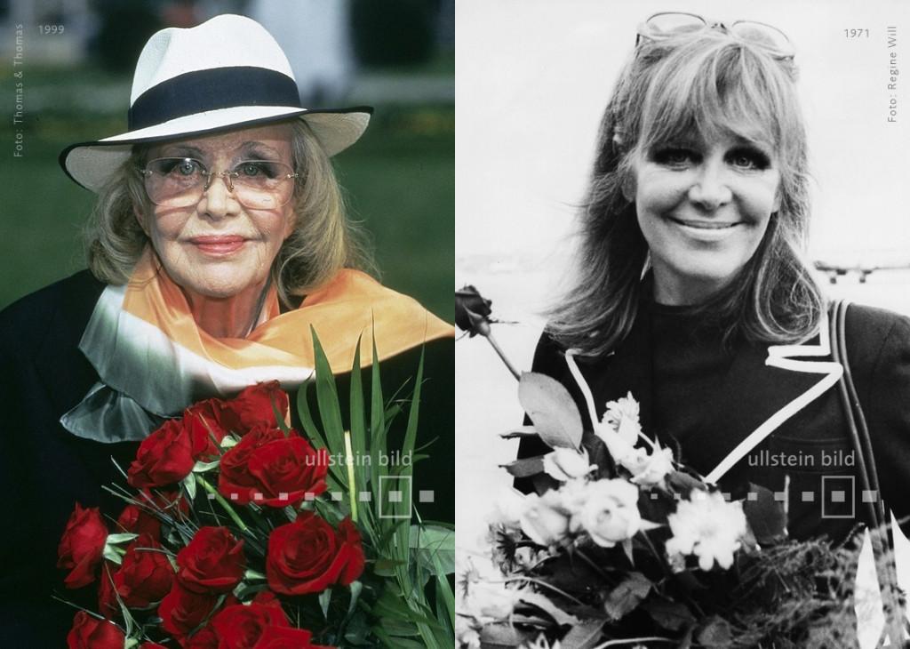 Hildegard Knef 1999 & 1971