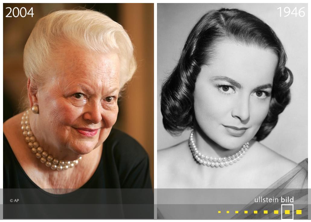 Olivia de Havilland 2004 & 1946