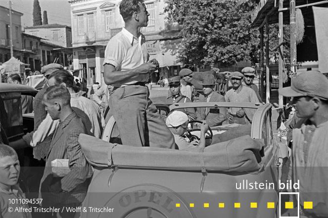 Mit dem Opel Olympia durch Griechenland: Fotograf Alfred Tritschler - Sommer 1936