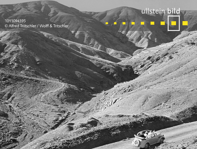 Mit dem Opel Olympia durch Griechenland: Im Gebirge auf der Peloponnes - Sommer 1936