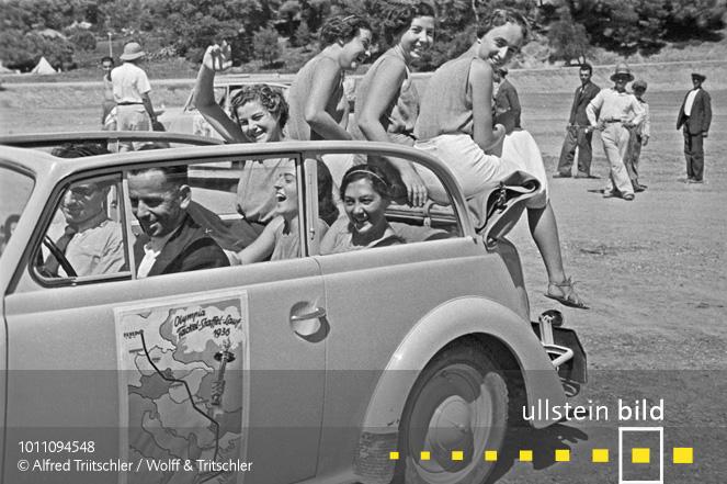 Mit dem Opel Olympia durch Griechenland: Hab' den Wagen voll geladen ... - Sommer 1936