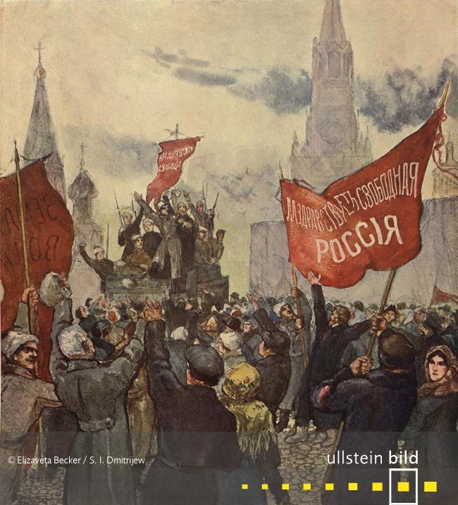 FEBRUARREVOLUTION IN RUSSLAND 100. Jahrestag am 8. März 2017