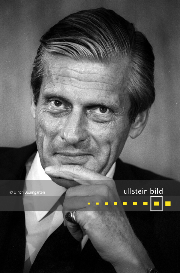 Walter Leisler Kiep † 9. Mai 2016 in Kronberg im Taunus