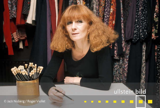 Sonia Rykiel † 25. August 2016 in Paris