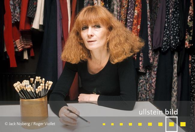 Sonia Rykiel † 25. August 2016 in Paris