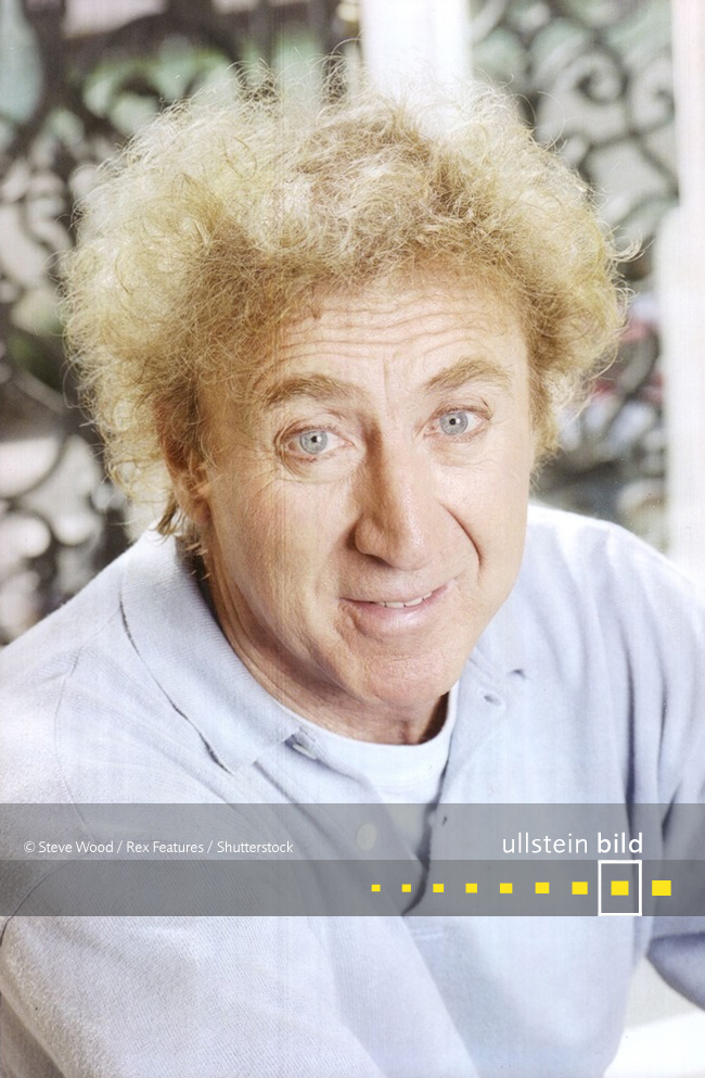Gene Wilder † 29. August 2016 in Stamford, Connecticut