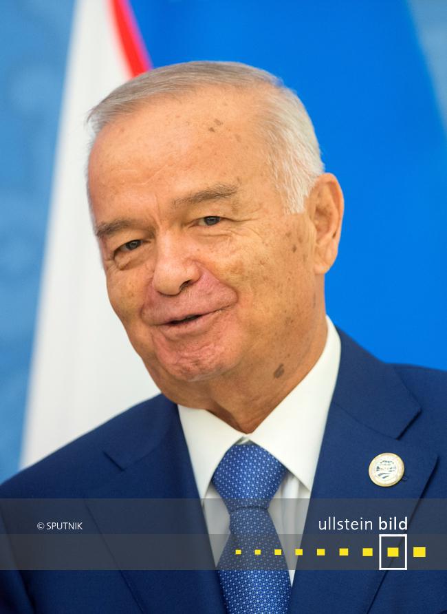 Islam Karimow † 2. September 2016 in Taschkent