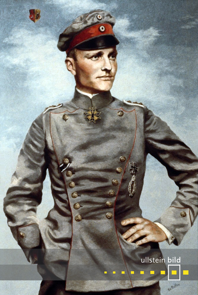 MANFRED VON RICHTHOFEN 100. Todestag am 21. April 2018