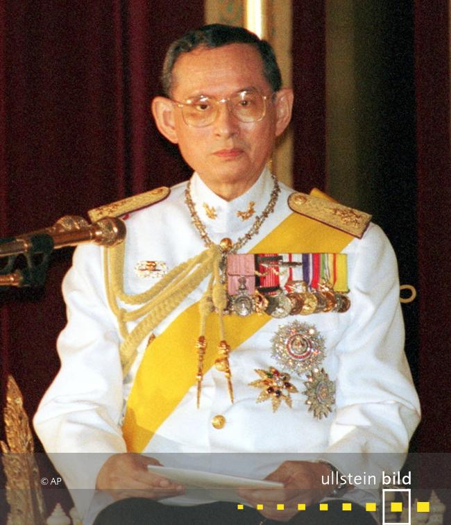 Bhumibol Adulyadej - Rama IX. König von Thailand † 13. Oktober 2016 in Bangkok