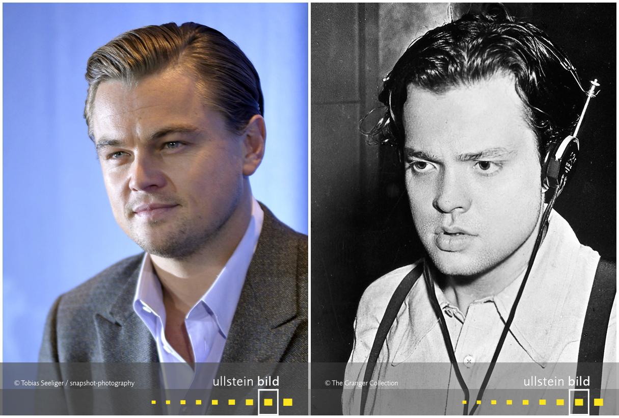 zu den Originalfotos von Leonardo diCaprio & Orson Welles