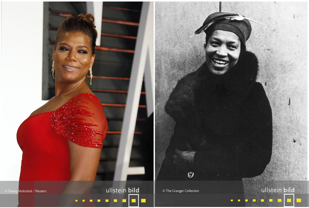 zu den Originalfotos von Queen Latifah & Zora Neale Hurston