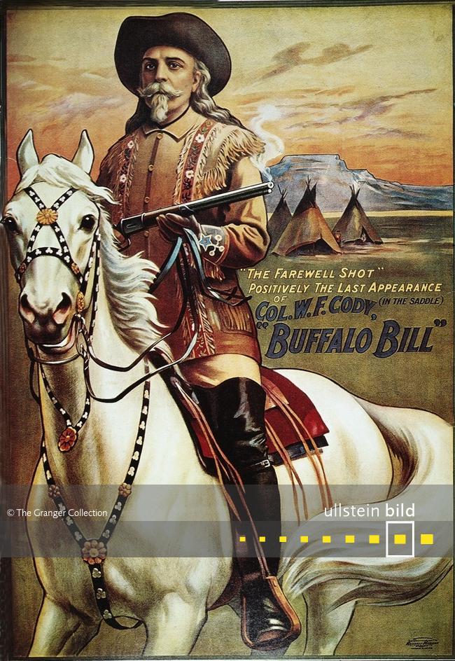 BUFFALO BILL alias WILLIAM F. CODY 100. Todestag am 10. Januar 2017