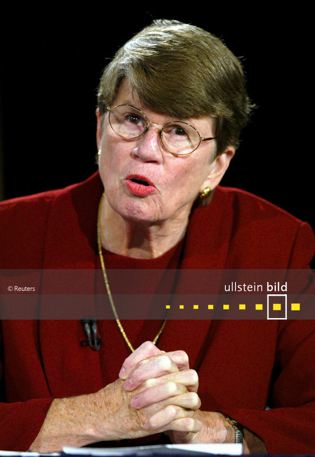 Janet Reno † 7. November 2016 in Miami, Florida