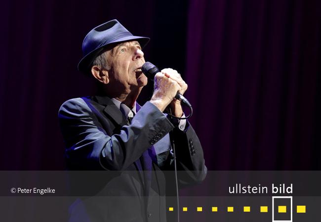 Leonard Cohen †  7. November 2016 in Los Angeles