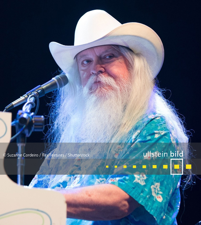 Leon Russell † 13. November 2016 in Nashville, Tennessee