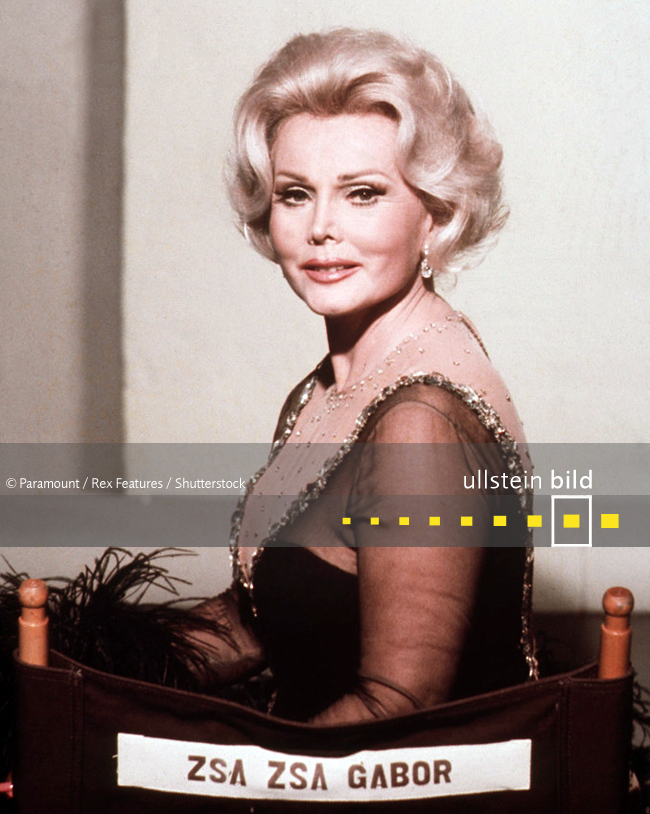 Zsa Zsa Gabor † 18. Dezember 2016 in Los Angeles