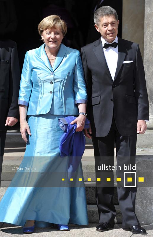 Angela Merkel mit Ehemann Joachim Sauer