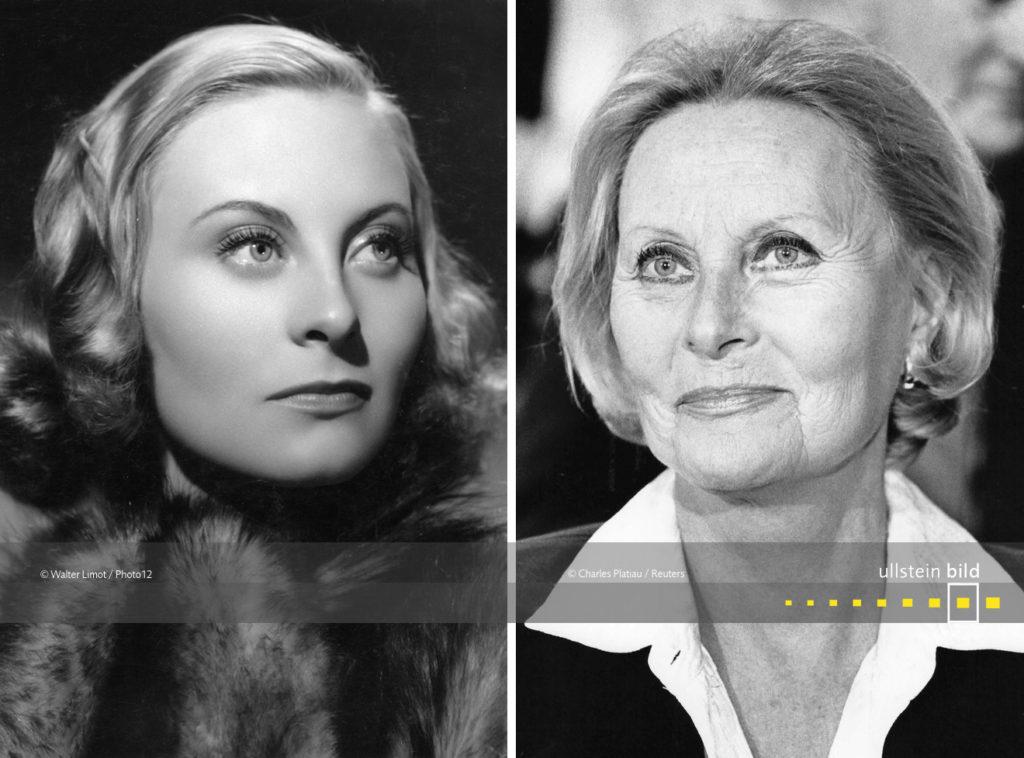 Michèle Morgan 1939 & 1987