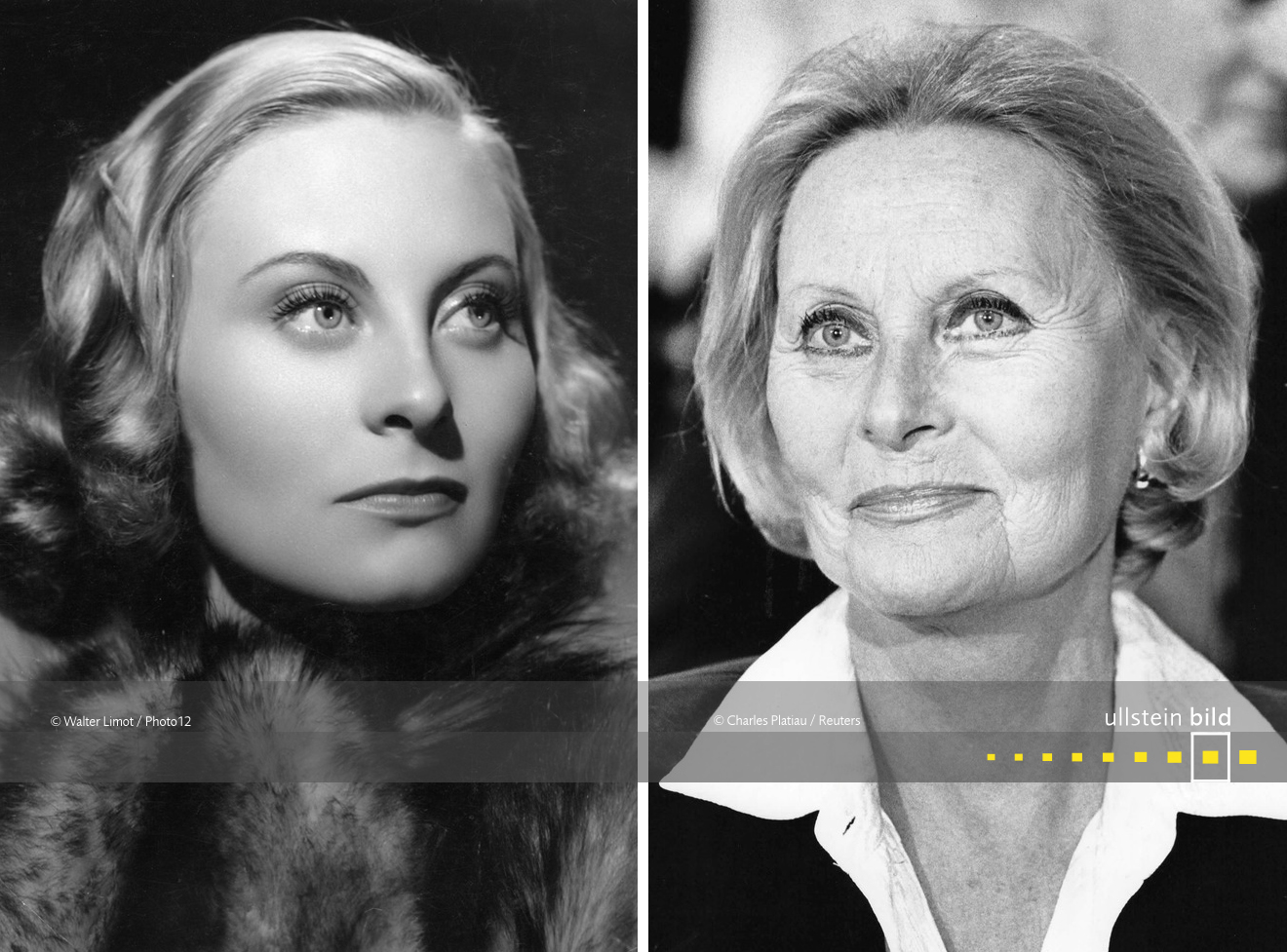 Michèle Morgan 1939 & 1987