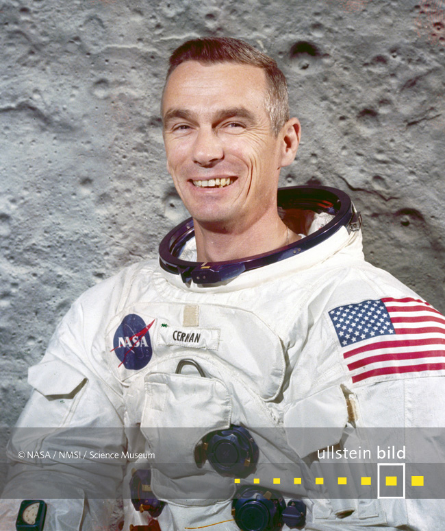 Eugene Cernan † 16. Januar 2017 in Houston, Texas