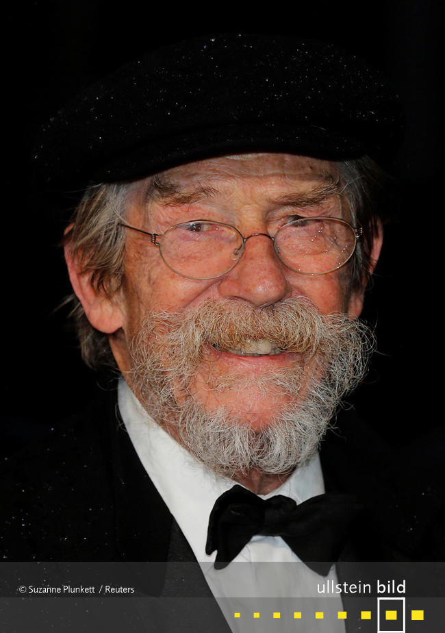 John Hurt † 25. Januar 2017 in Cromer, Norfolk