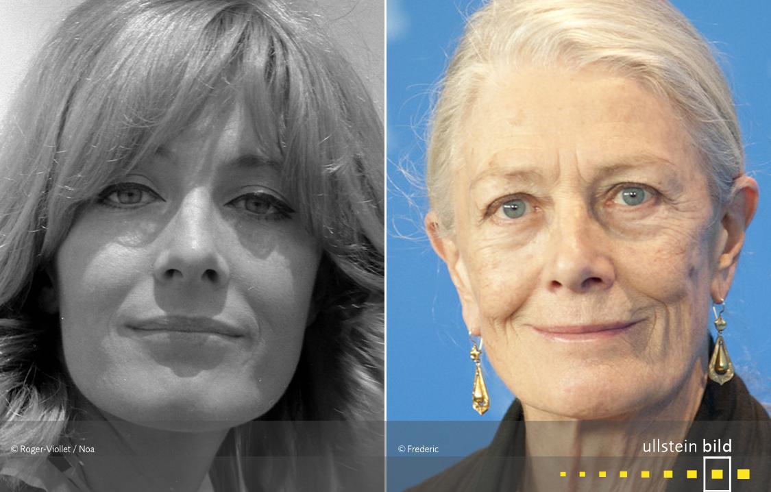 Vanessa Redgrave 1966 & 2011