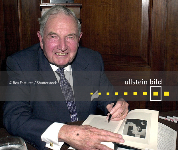 David Rockefeller † 20. März 2017 in Pocantico Hills, New York