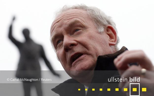 Martin McGuinness † 21. März 2017 in Derry, Nordirland