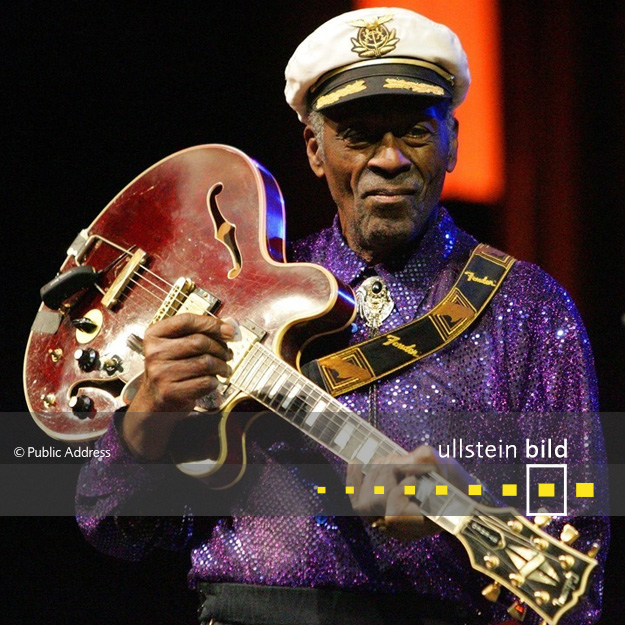 Chuck Berry † 18. März 2017 in St. Charles, Missouri