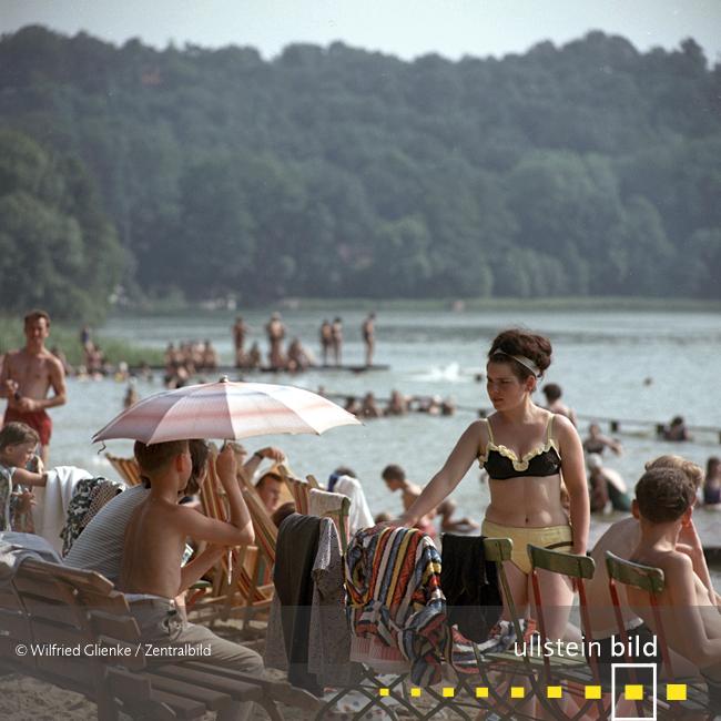 Am Schermützelsee in der Märkischen Schweiz 1967 - Fotos von Wilfried Glienke