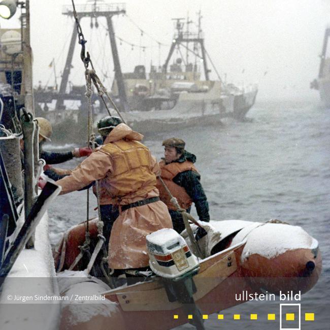 Hochseefischerei 1974/77 - Fotos von Jürgen Sindermann