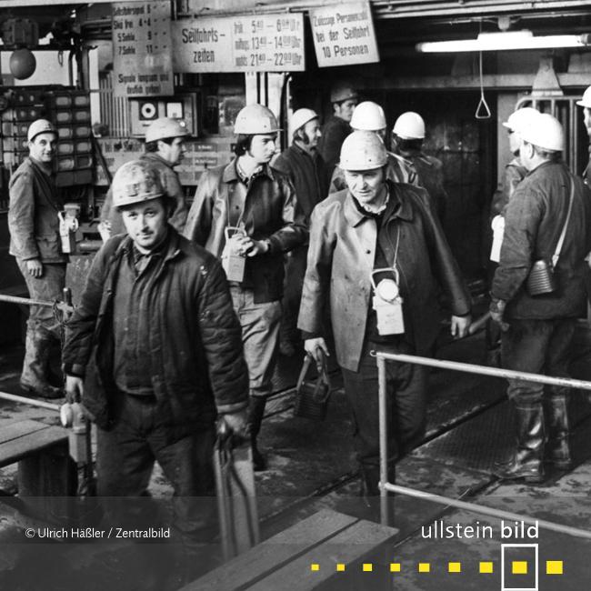 Bergbau im Erzgebirge 1976 - Fotos von Ulrich Häßler