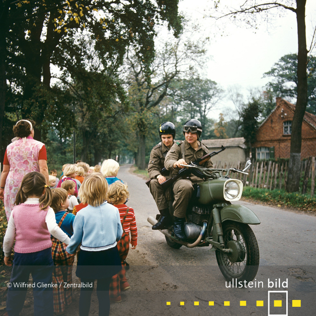 Im Grenzort Wootz 1976 - Fotos von Wilfried Glienke