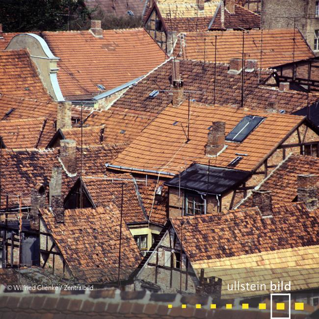 Altstadt von Güstrow 1978 - Fotos von Wilfried Glienke