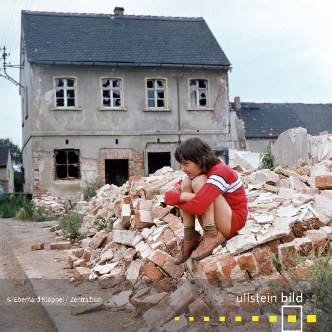 Dorf Magdeborn weicht der Kohle 1978 - Fotos von Eberhard Klöppel