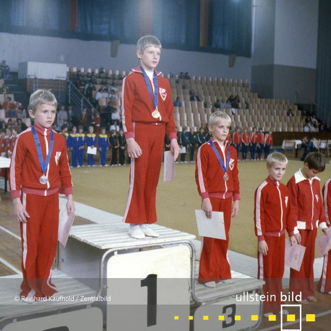 VII. Kinder- und Jugendspartakiade in Ost-Berlin 1979 - Fotos von Reinhard Kaufhold
