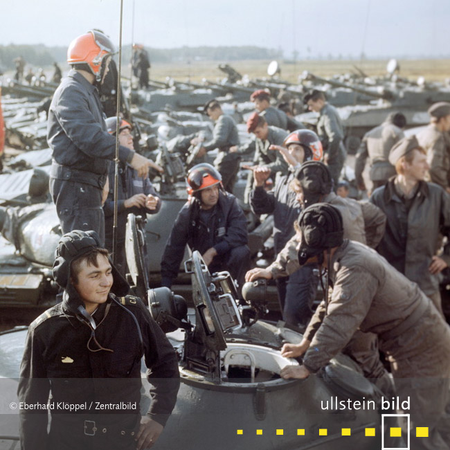 """Großmanöver """"Waffenbrüderschaft 80"""" 1980 - Fotos von Eberhard Klöppel"""