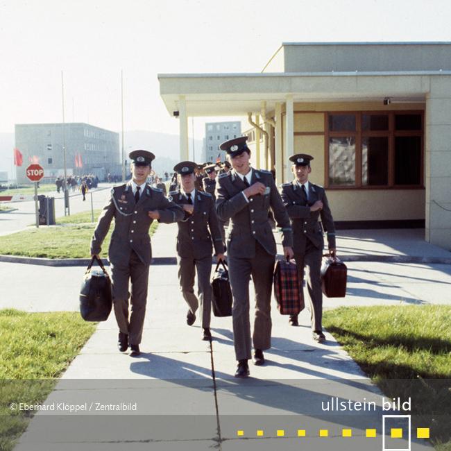 """Offiziershochschule der Grenztruppen """"Rosa Luxemburg"""" in Suhl 1984 - Fotos von Eberhard Klöppel"""
